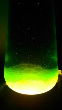 green lava lamp | Tumblr