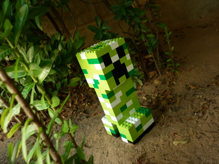 Legosaurus Lego Minecraft Characters Created By Meufer