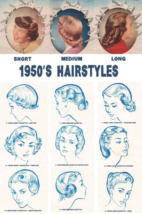 50s Hairstyles Tumblr