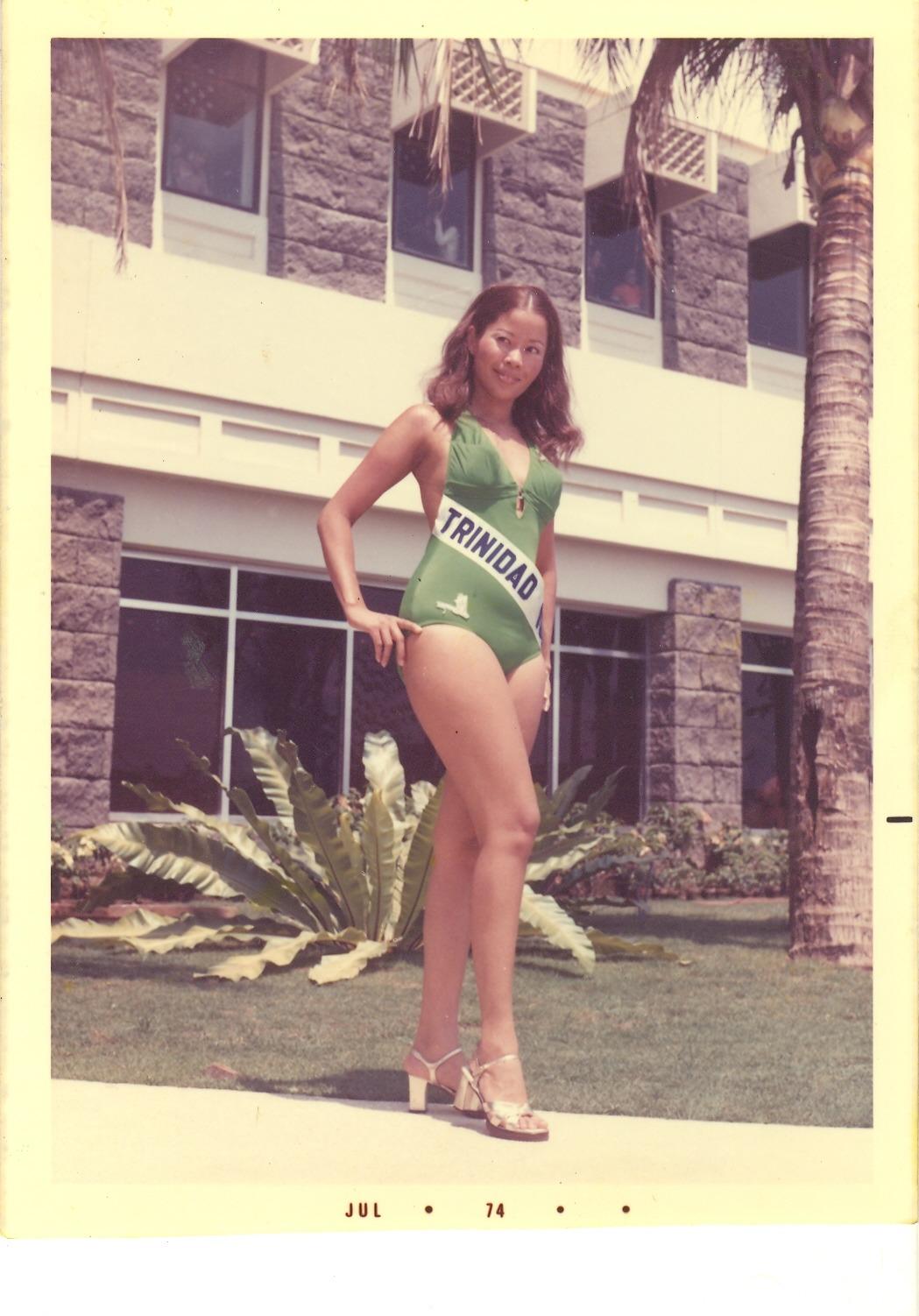 Miss Trinidad & Tobago Stephanie Lee Pack (1974)