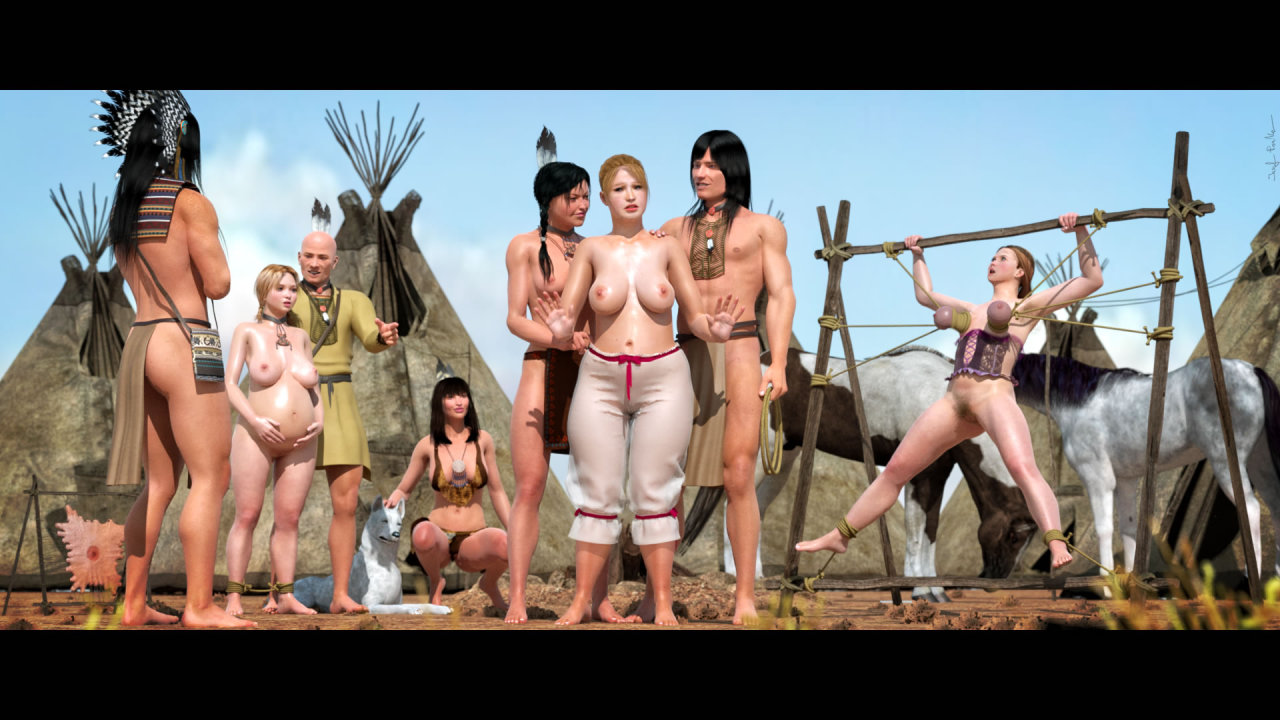 wild west women naked pictures