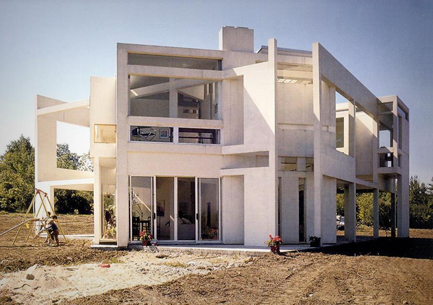 Peter Eisenman House Vi Plans