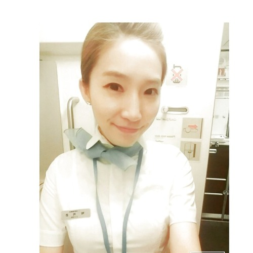 Korean air stewardess wet hairy pussy selfies leaked 2