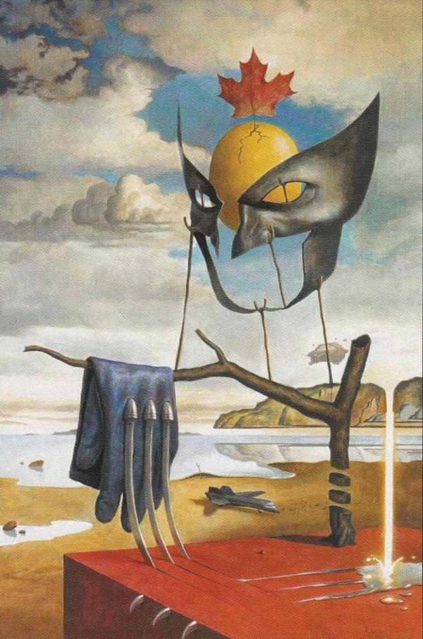 Salvador Dali Art Style