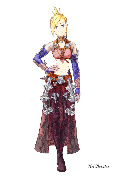Final Fantasy Tactics Fan Art Tumblr