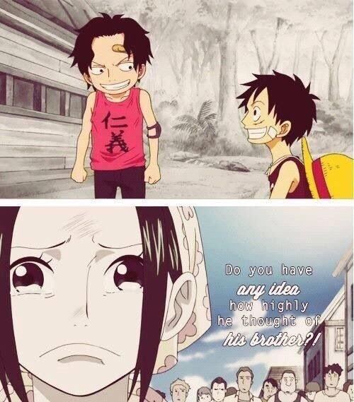 Luffy Childhood Tumblr