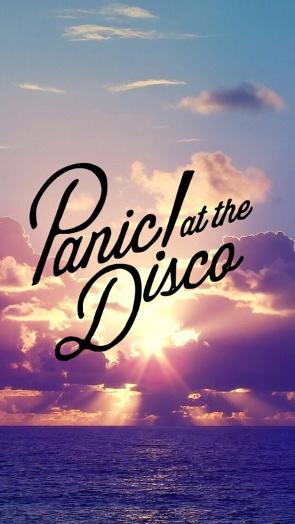 Fall Out Boy Iphone Wallpaper Panic At The Disco Logo Tumblr