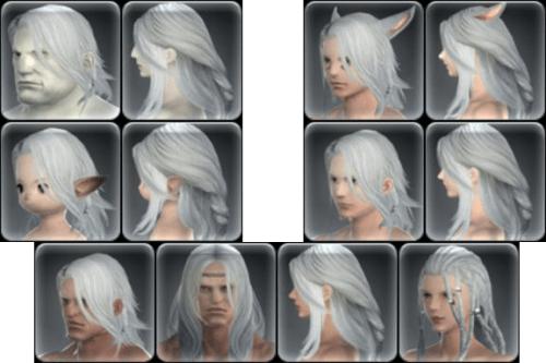 Ffxiv New Hairstyles Ffxiv Hair Trend 2017