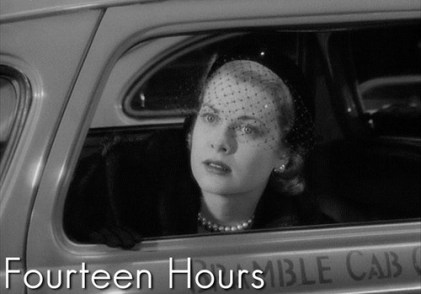 Image result for grace kelly in fourteen hours the movie