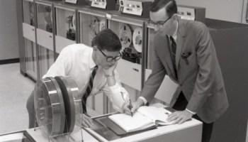 San Diego, June 3, 1968: General Dynamics empl… – Vintage