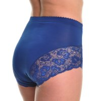 These high-waisted briefs have a cute lace accent around the thighs and are suitable for slight..., August 08, 2017 at 05:39AM
