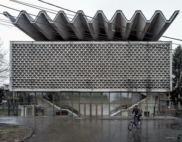 socialistmodernism: Aula Magna Hall – Universitatea de Vest ...
