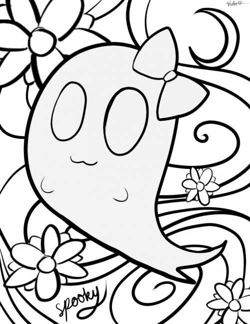 Halloweentown Coloring Pages Sketch Coloring Page