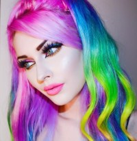 Colorful Hair Color Tumblr | www.imgkid.com - The Image ...