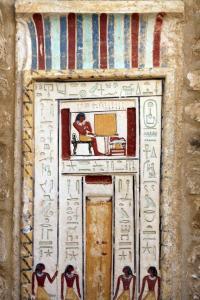 Corvo Radec  A false door from Ancient Egypt. The Ancient...