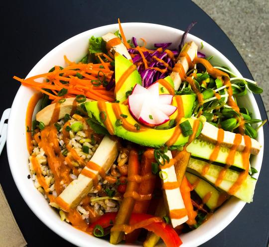 SF cafes vegan
