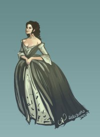 outlander wedding dress | Tumblr
