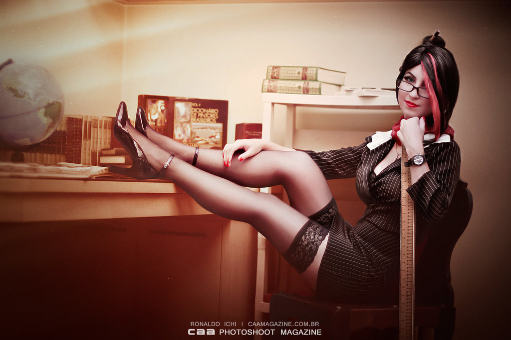 Headmistress Fiora by Candy-Cosplays  Check out http://hotcosplaychicks.tumblr.com for more awesome cosplay