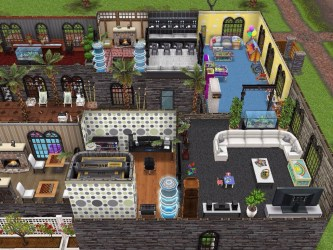 sims mansion freeplay