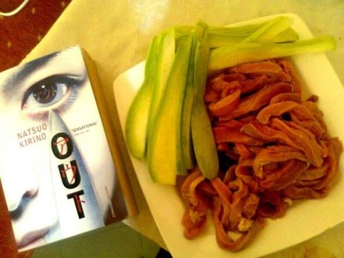 Eat your meat because after reading this you might not wanna #bookstagram #currentlyreading