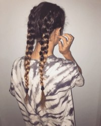 french braids | Tumblr