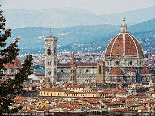 Firenze, vista dallAbbazia di San Miniato al Monte