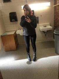 bathroom selfies on Tumblr