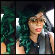 colorful hairstyles inspire