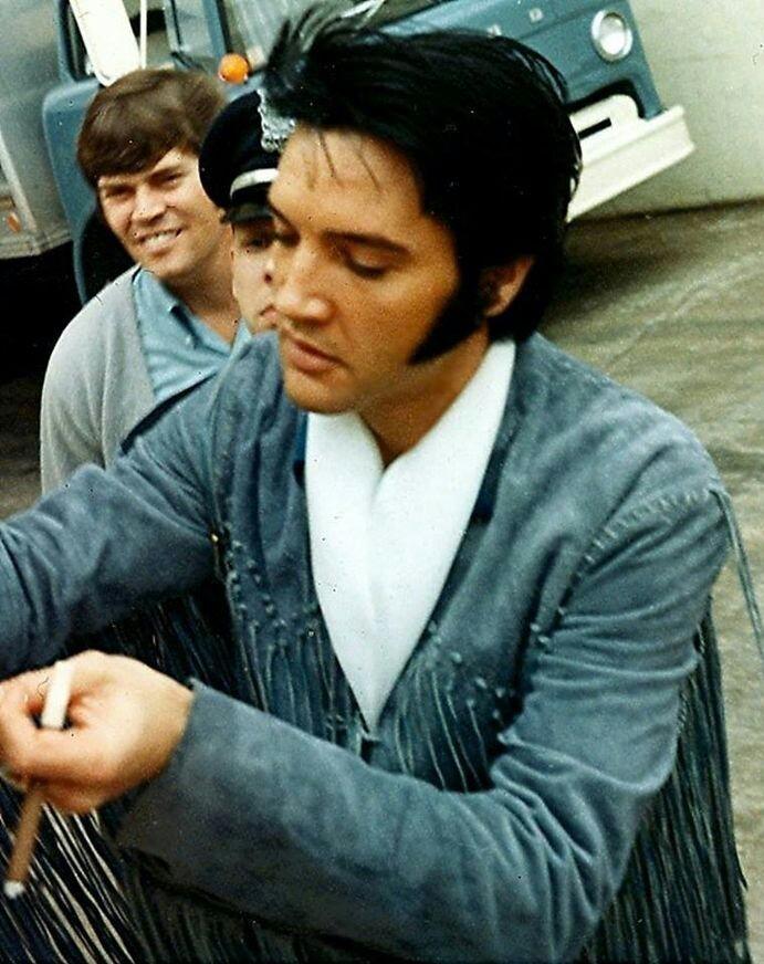 "iloveelvispresleyforever: "" Elvis on March 2 1970 Source """