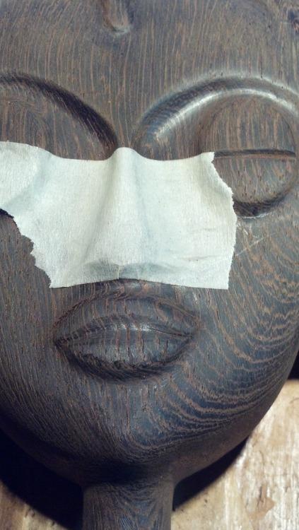 ken gwira, sculptor, ghana, interview, wood, carving
