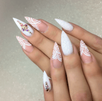 long pointy nails | Tumblr