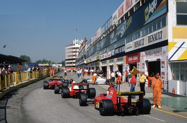 Image result for 1990 san marino grand prix