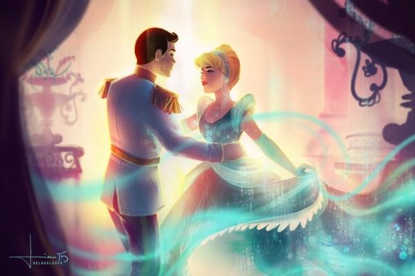 Disney Cinderella and Prince Charming