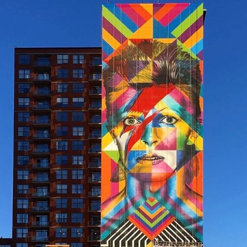 coloursxart:  By Eduardo Kobra - Located in Jersey City, USA