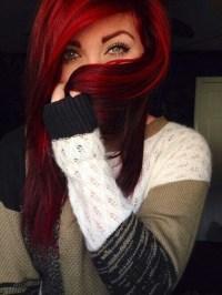 maroon hair color   Tumblr