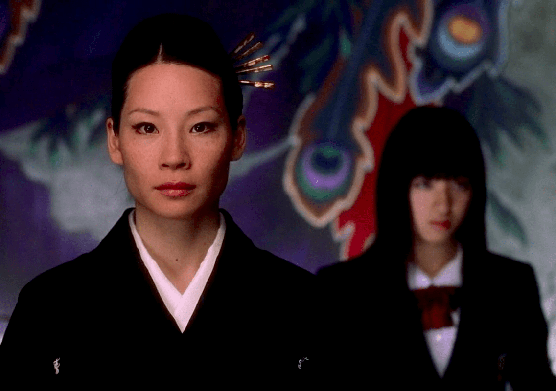 Image result for lucy liu and gogo kill bill