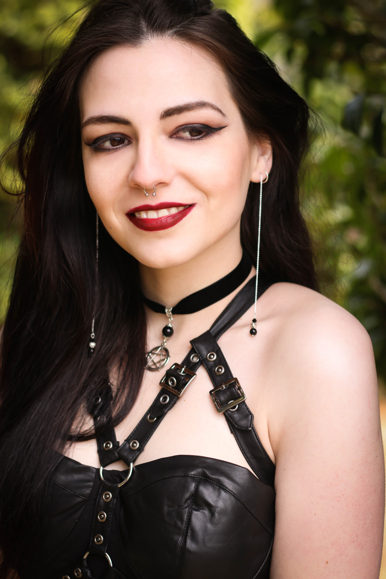 Model: Silky Dress: The Gothic Shop Jewellery: The Black Cat Jewellery Store Welcome to Gothic and Amazing | www.gothicandamazing.org