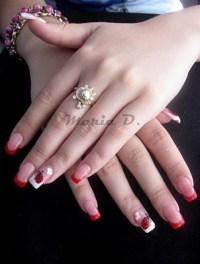 acrylic nail designs on Tumblr