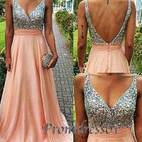 Sparkly blush pink prom dress - Prom Dress