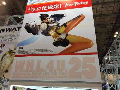 After the Nendoroid, Overwatch's Tracer gets figma!