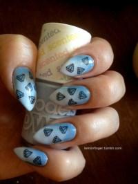natural stiletto nails   Tumblr