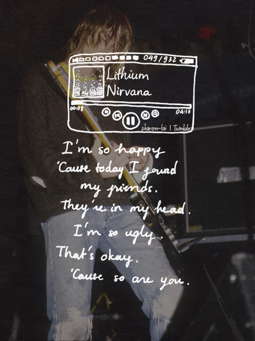 Avenged Sevenfold Quotes Wallpaper Nirvana Lyrics Tumblr