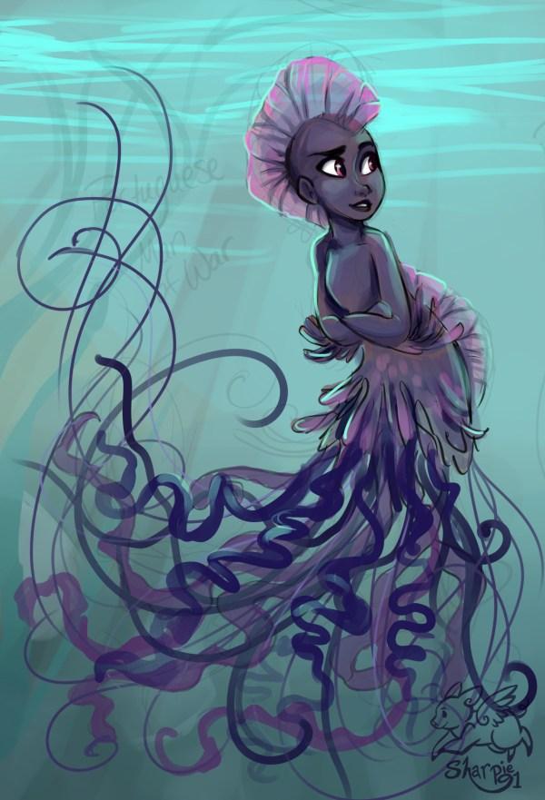 Sharp Art - Mermaids Sharpie91