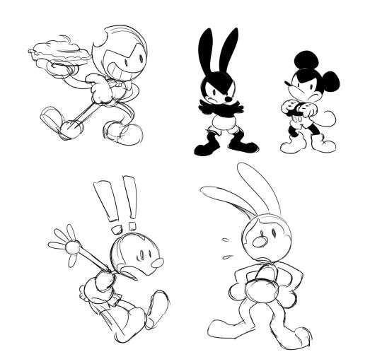 oswald the lucky rabbit  Tumblr
