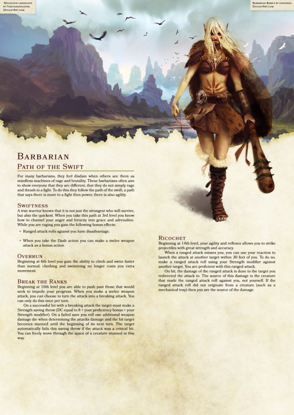 Path Of Demon 5e Barbarian Subclass Dungeon - Year of Clean