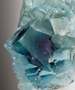 bijoux-et-mineraux:  Fluorite - Minerva No. 1 Mine, Hardin Co., Illinois