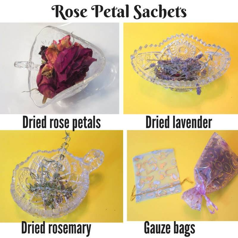 Author Karen Rose Smith has the perfect DIY stocking stuffer! Supplies • Dried rose petals • Dried lavender • Dried rosemary • Gauze bags Directions These sachets are so easy to assemble whether you have a garden or buy supplies at the grocery store!...