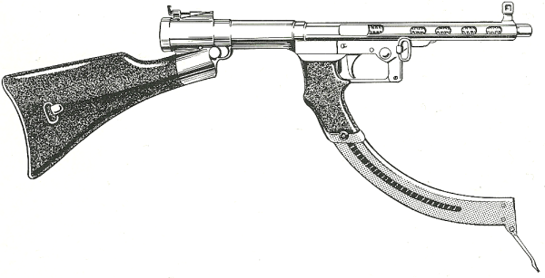 Historical Firearms Japanese Type I Submachine Gun