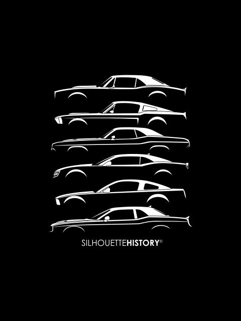 SilhouetteHistory Pony Retro SilhouetteHistory