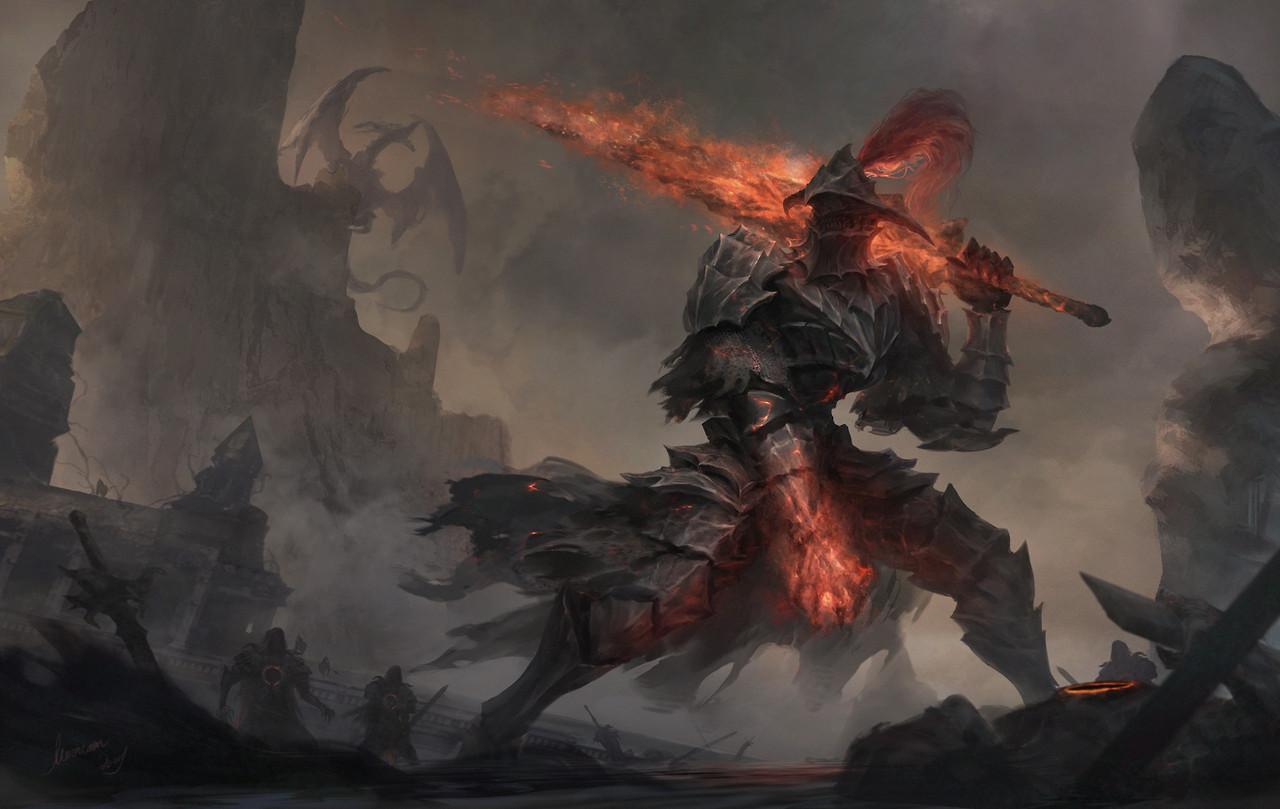 Need More Humanity U2013 Dark Souls III Fan Art By Wen Geming